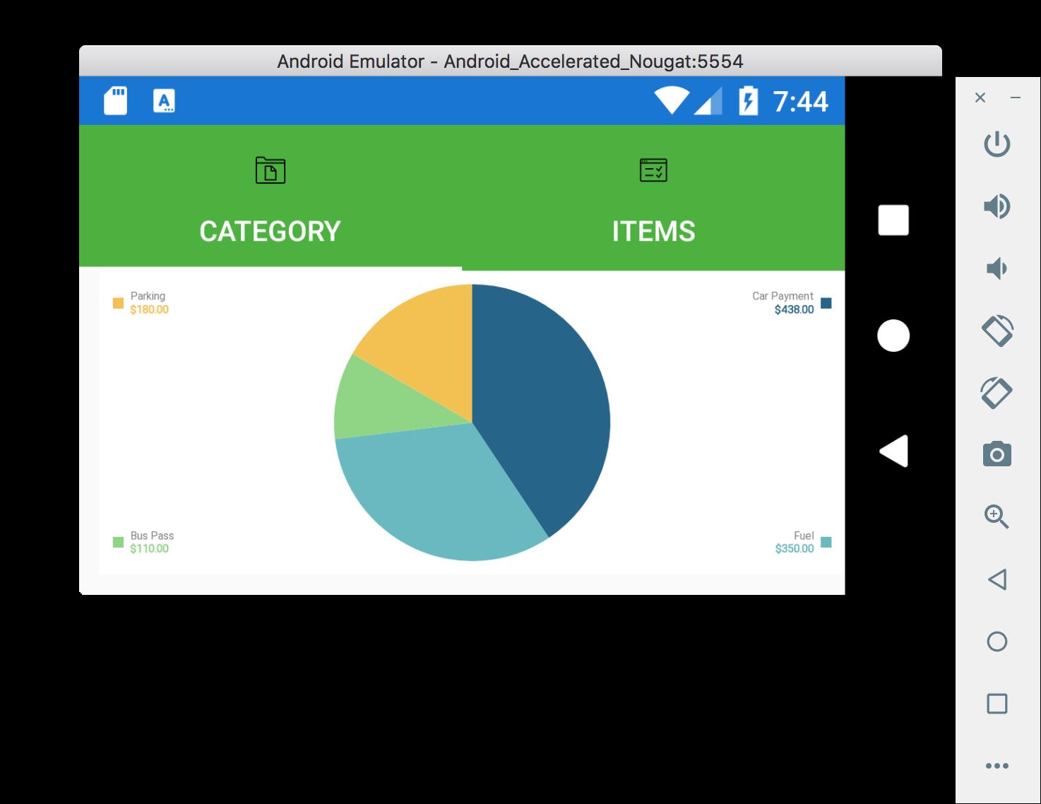 EasyBudget Update and Microcharts – CrawfordNET Solutions